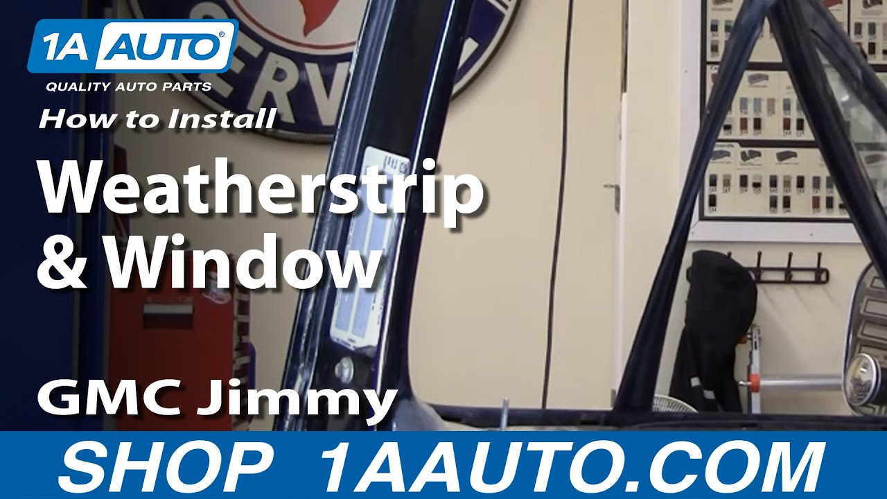 How To Install Replace Weatherstrip Amp Window 73 87 Chevy