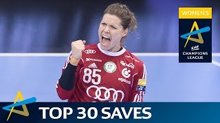 Top 30 saves of the 2016/17 Women's EHF Champions League