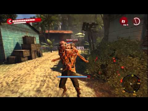 Dead Island Riptide Best Blunt Weapon In The Game(Orange Solar Flare Staff lvl 70)