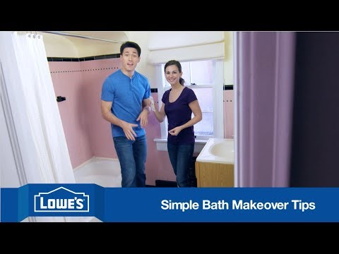Bathroom makeover ideas on a budget