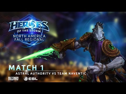 Astral Authority Vs Team Naventic - NA Fall Regional #1 - Match 1   Group A   Upper Bracket