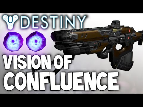 Destiny: Vision Of Confluence - Full Auto Raid Scout Rifle - Review & Setup w/ Gameplay!