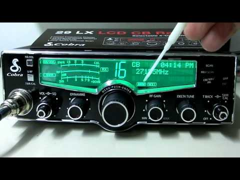 New Cobra 29 LX CB Radio - Digital Display 40 Channel AM