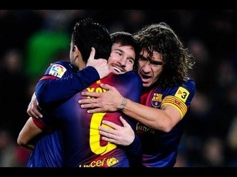 Barcelona - Osasuna  (5-1) All Goals & Highlights 27.01.2013 Lionel Messi Show