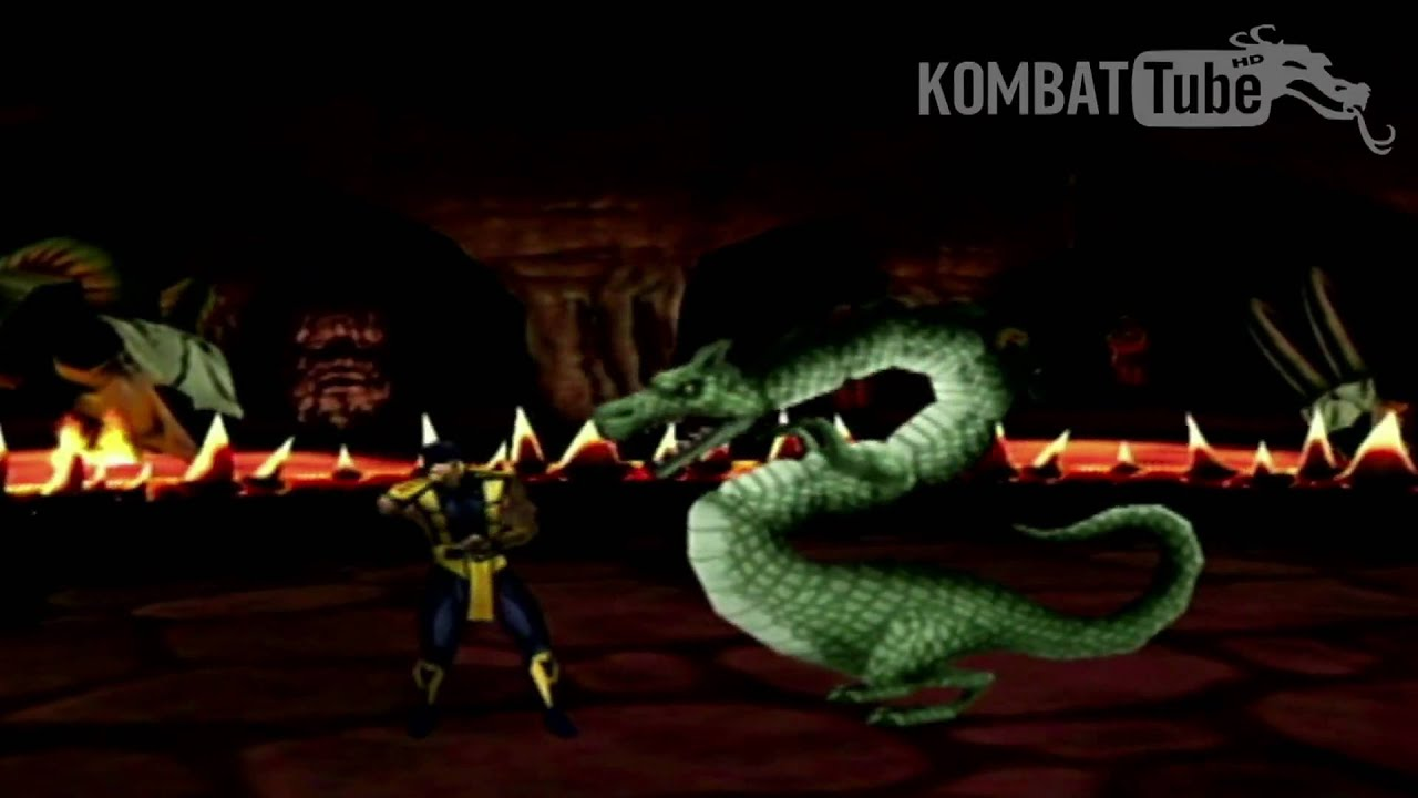 Mortal Kombat II Liu Kang Dragon Fatality