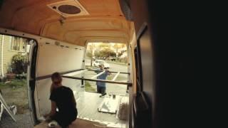 Sprinter Interior Structure Build