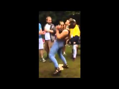 Girl Dancing To Pump Up The Jam video