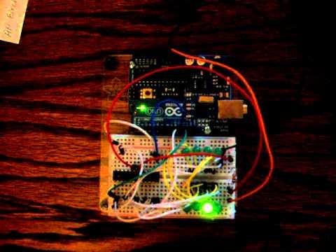 2x4 LED matrix / Arduino Uno / MAX7219