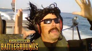 DrDisRespect plays Battlegrounds on a Boat