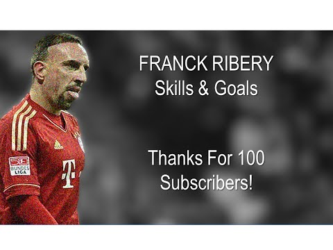 Franck Ribery ● French Magician ● Skills & Goals ||HD||