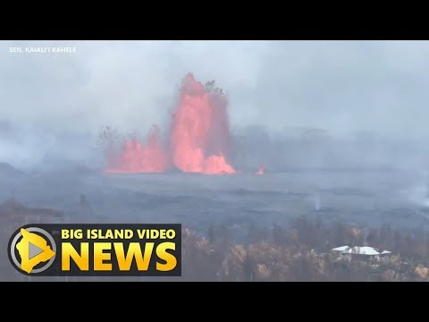 Hawaii Eruption Update, 11 am Conference Call (May 29, 2018)