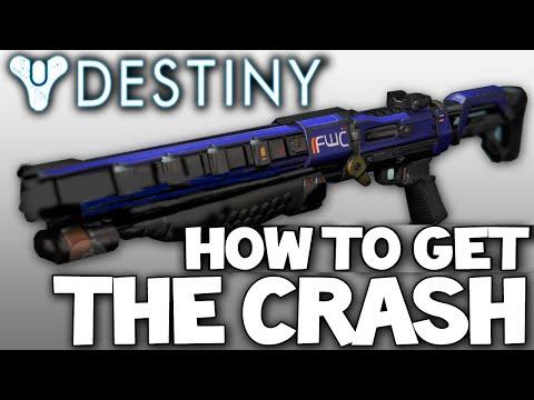 Destiny: The Crash - Legendary Shotgun - Review & How To Get w/ Gameplay!
