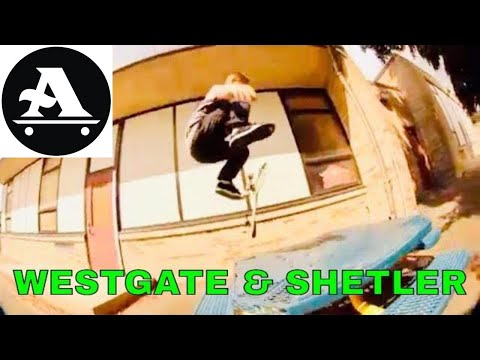 Anthony Shetler and Brandon Westgate table skate session