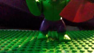 Hulk 🆚 Superman Stop Motion Test