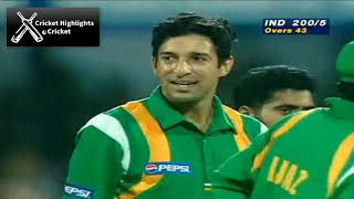 India vs Pakistan Classic Match at Sharjah 1997