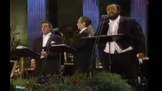 O SOLE MIO-Pavarotti - Carreras - Domingo-Greek subs- English lyrics-  Ο ήλιος μου-My sun
