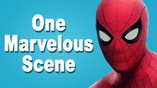 """One Marvelous Scene - """"Saving the Cat"""" from Spider-Man Homecoming 