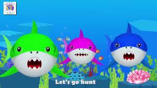 Baby Shark Dance   Sing and Dance! Animal Songs for KIDS - MA & MO KIDS