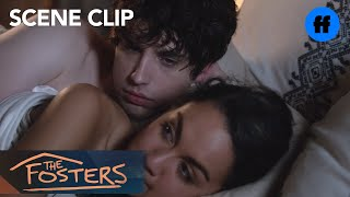 The Fosters | Season 5 Episode 3: Brandon And Grace Have A Serious Talk | Freeform
