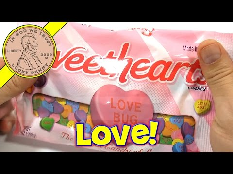 Sweetheart Conversation Hearts Candy. 2014 Valentine's Day Series