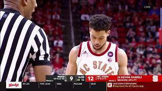 2019.02.24 Wake Forest Demon Deacons at NC State Wolfpack Basketball