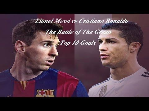 Lionel Messi vs Cristiano Ronaldo ● Top 10 Goals 2014/2015 ● The Battle of the Greats | HD