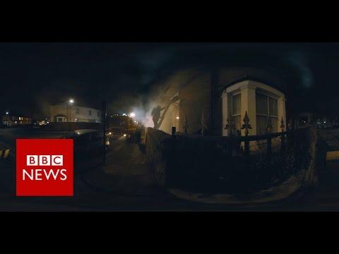 Fire Rescue (360 Video) - BBC News