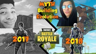 TSM MYTH Fortnite Building Evolution from 2017 to Now !!!