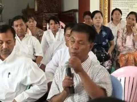 Dr U Soe Lwin (mandalay): Dhamma Discussion  dhamma Thar Kisar - Part 2 (myanmarnet.net) video