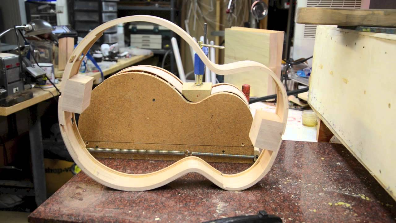 Bending Guitar Sides From My Steambox Luthier Acoustic