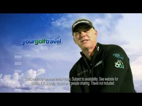 Your Golf Travel Sky Advert Featuring Darren Clarke & Algarve Golf Holidays at Vila Gale Hotels
