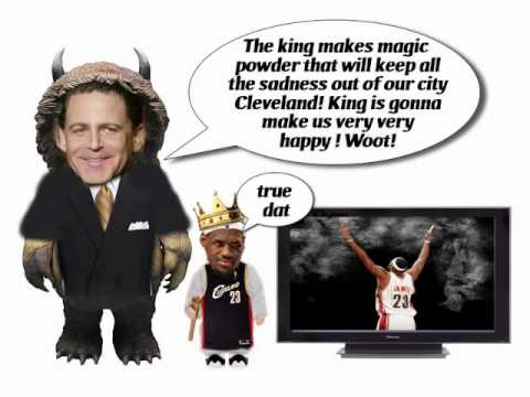 Where the Smiling Kings Are - The Story of Lebron James and the Cleveland Cavaliers and Miami Heat Video