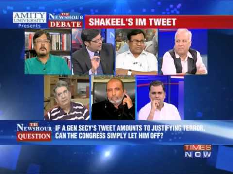 The Newshour Debate:On Shakeel Ahmed's Tweet (Part 3)