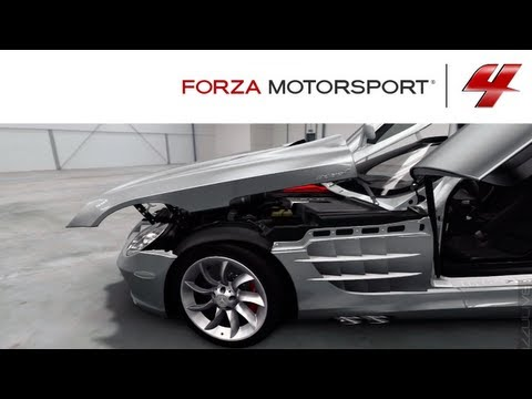 Forza 4 1080p Mercedes Benz SLR McLaren Autovista