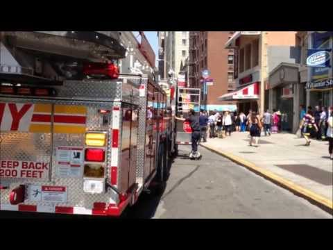SMOKE CONDITION - FDNY ENGINE 14, 5, 3, NEW FDNY TOWER LADDER 12, LADDER 3, BATTALION 6.