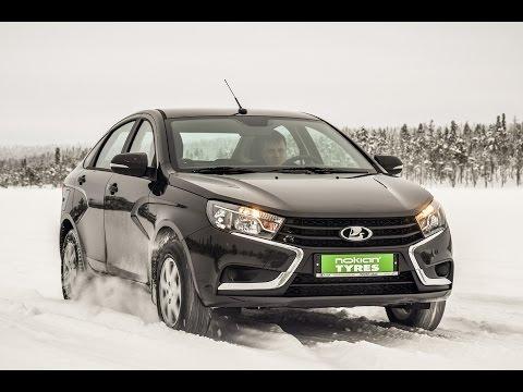 Lada Vesta: трэкшн-контроль или водитель? Тесты в Заполярье