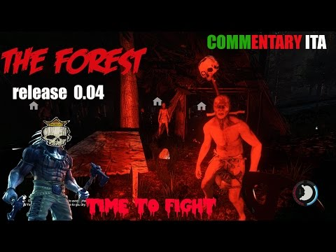 The Forest 0.04 - Testiamo il sistema di combattimento - PC GAMEPLAY 1080 max settings ITA