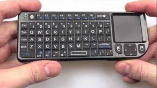 The Rii Mini Bluetooth Keyboard vs The Lenovo N5902