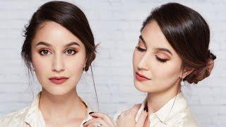 Work Makeup & Hair Tutorial | Karima McKimmie