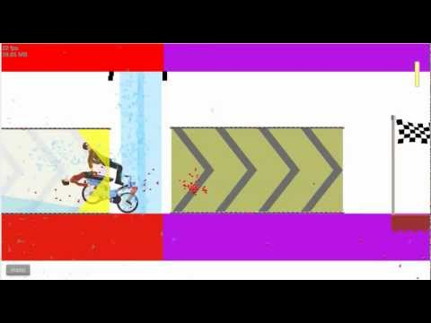 Happy wheels Ep.1 FREAKY INVISIBLE WOMAN!
