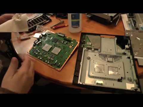 Lets repair a broken Playstation 3 (PS3) - overheat issue