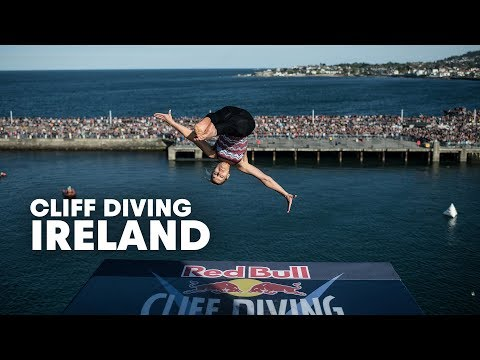Cliff diving in ireland red bull cliff diving world series 2014 youtube - Red bull high dive ...