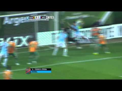 Banfield le regaló una goleada a Almeyda en su despedida