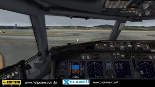 [LIVE] XPLANE 11 FULL HD BPS - GRU ZIBO 738 ON IVAO