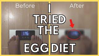 I tried the 10 Days Egg Diet (Quarantine Diet) | Sande Shares