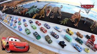 Carros 3 Corrida com Pacecar Pat Traxson Branco - Carrinhos de Brinquedos #97