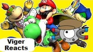 """Viger Reacts to SMG4's """"Stupid Mario World"""""""