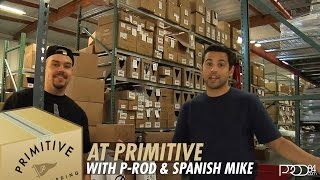 Paul Rodriguez l Primitive Skateboards Board BOXING with Spanish Mike