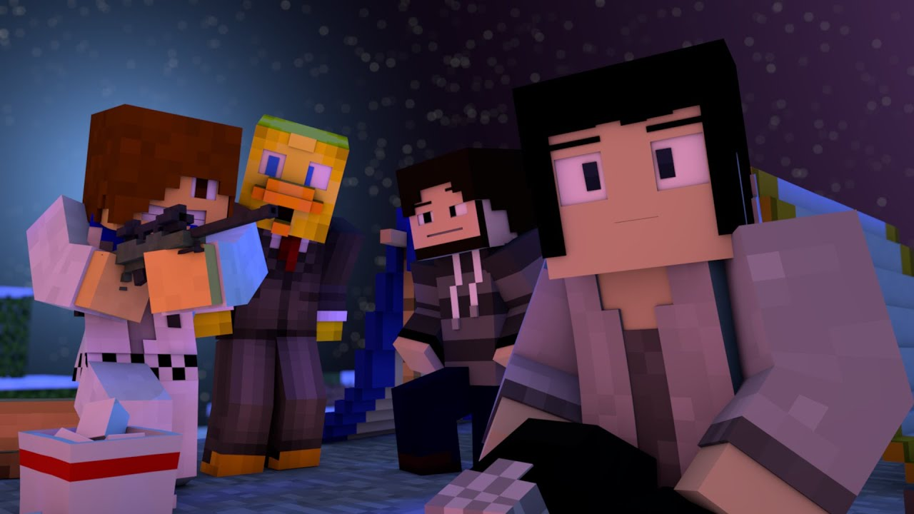 Minecraft Animation: JUSTIN BIEBER KILLS!