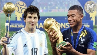 The Two Wonderkids of the 21st Century - Kylian Mbappé & Lionel Messi - HD